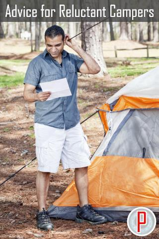 Advice for Reluctant Campers