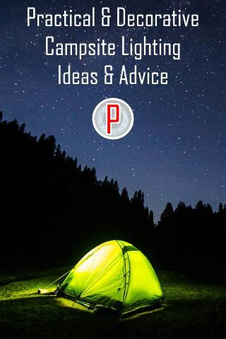 Decorative Campsite Lighting Ideas And