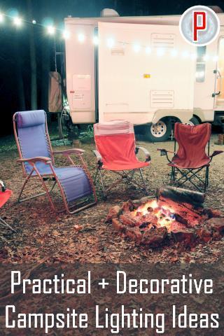 Campsite Lighting Ideas