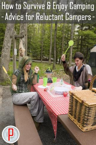 How to Survive and Enjoy Camping